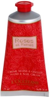 L'Occitane Rose crema de manos con olor a rosa