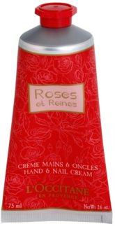 L'Occitane Rose krema za roke z vonjem vrtnic