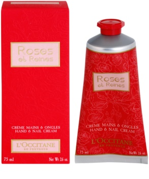 L'Occitane Rose Hand Cream With The Scent Of Roses