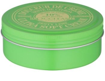 L'Occitane Shea Butter Gentle Body Cream with Lime