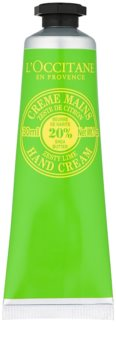 L'Occitane Shea Butter krema za roke z vonjem limete
