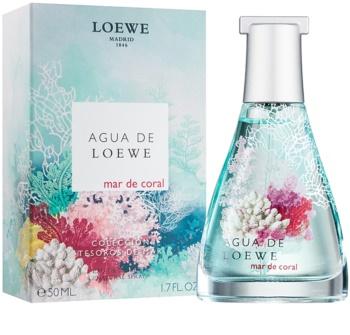 Loewe Agua de Mar de Coral Eau de Toilette unisex 50 ml