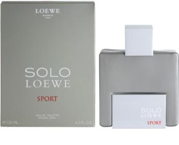 Loewe Solo Sport eau de toilette pour homme 125 ml