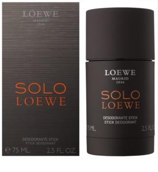 Loewe Solo Loewe desodorante en barra para hombre 75 ml