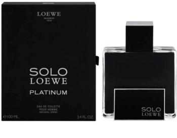 Loewe Solo Loewe Platinum Eau de Toilette für Herren 100 ml