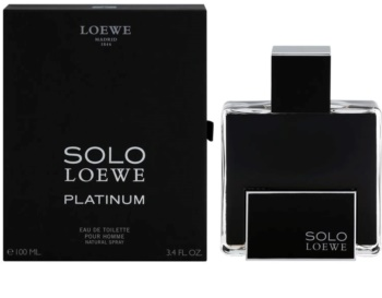 Loewe Solo Platinum toaletná voda pre mužov 100 ml