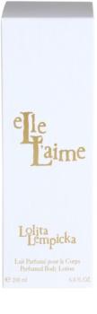 Lolita Lempicka Elle L'aime lotion corps pour femme 200 ml