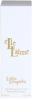 Lolita Lempicka Elle L'aime tělové mléko pro ženy 200 ml