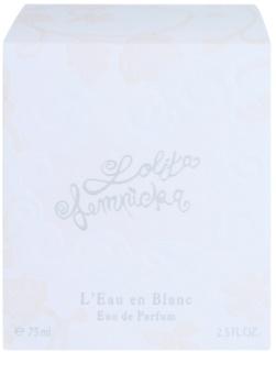 Lolita Lempicka L'Eau en Blanc Eau de Parfum für Damen 75 ml limitierte Edition