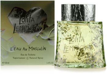 Lolita Lempicka L`Eau Au Masculin Eau de Toilette for Men 100 ml