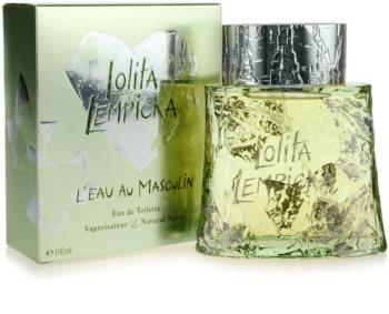 Lolita Lempicka L`Eau Au Masculin eau de toilette férfiaknak 100 ml