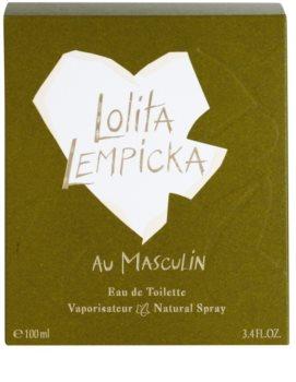 Lolita Lempicka Au Masculin Eau de Toilette for Men 100 ml