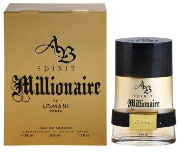 Lomani AB Spirit Millionaire eau de toilette pour homme 100 ml