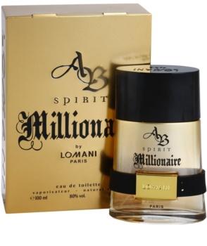 Lomani AB Spirit Millionaire eau de toilette pentru barbati 100 ml