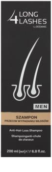 Long 4 Lashes Hair champô anti queda para homens
