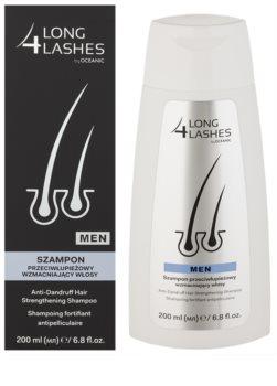 Long 4 Lashes Hair Versterkende Anti-Roos Shampoo  voor Mannen