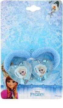 Lora Beauty Disney Frozen elastici per capelli a forma di cuore