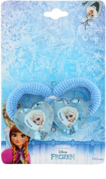 Lora Beauty Disney Frozen gumičky do vlasů ve tvaru srdce