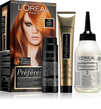 Haarfarben loreal preference