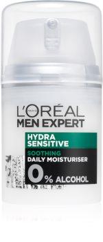 L'Oréal Paris Men Expert Hydra Sensitive umirujuća i hidratantna krema za osjetljivu kožu lica