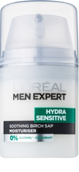 L'Oréal Paris Men Expert Hydra Sensitive заспокоюючий та зволожуючий крем для чутливої шкіри