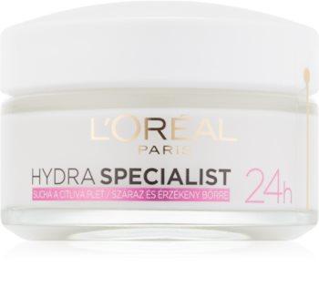 L'Oréal Paris Hydra Specialist Day Multi - Protection  Moisturizer for Sensitive Dry Skin