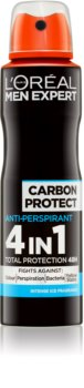 L'Oréal Paris Men Expert Carbon Protect antiperspirant v spreji