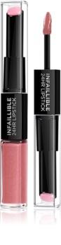 L'Oréal Paris Infallible dlouhotrvající rtěnka a lesk na rty 2 v 1