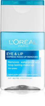 L'Oréal Paris Skin Perfection dvofazni odstranjevalec ličil za okoli oči in ustnic