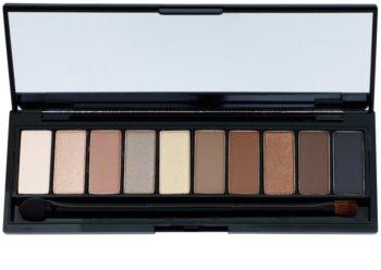 L'Oréal Paris Color Riche La Palette Nude paleta sjenila za oči sa zrcalom i aplikatorom