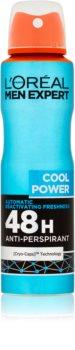 L'Oréal Paris Men Expert Cool Power antiperspirant v pršilu