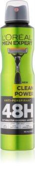 L'Oréal Paris Men Expert Clean Power антиперспірант спрей