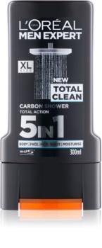L'Oréal Paris Men Expert Total Clean gel de ducha 5 en 1