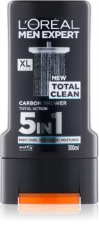L'Oréal Paris Men Expert Total Clean gel doccia 5 in 1