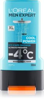 L'Oréal Paris Men Expert Cool Power tusfürdő gél