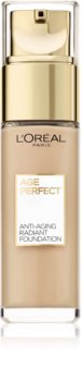 L'Oréal Paris Age Perfect омолоджуючий та освітлюючий тональний крем
