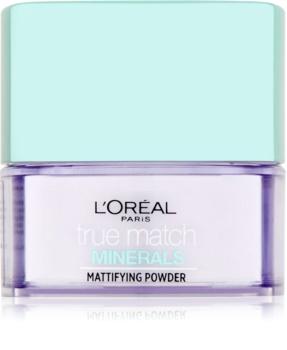 L'Oréal Paris True Match Minerals transparentný púder s matným efektom