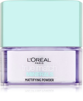 L'Oréal Paris True Match Minerals прозора пудра  з матуючим ефектом