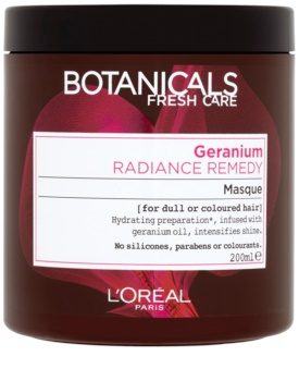L'Oréal Paris Botanicals Radiance Remedy maska za barvane lase