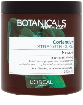 L'Oréal Paris Botanicals Strength Cure maska pre oslabené vlasy