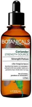 L'Oréal Paris Botanicals Strength Cure elixir sem enxaguar para cabelo enfraquecido