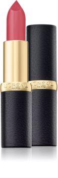 L'Oréal Paris Color Riche Matte barra de labios hidratante con efecto mate