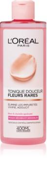 L'Oréal Paris Precious Flowers voda za obraz za suho in občutljivo kožo