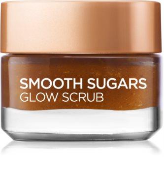 L'Oréal Paris Smooth Sugars Scrub fínomszemcsés, ragyogást adó cukorradír