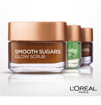 L'Oréal Paris Smooth Sugars Scrub peeling pre rozjasnenie pleti