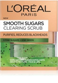 L'Oréal Paris Smooth Sugars Scrub čistilni piling proti črnim pikicam