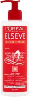 L'Oréal Paris Elseve Color-Vive Low Shampoo olio balsamo detergente per capelli secchi e tinti