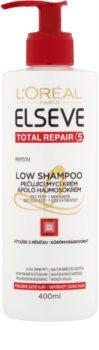 L'Oréal Paris Elseve Total Repair 5 Low Shampoo verzorgende wascrème voor Droog en Beschadigd Haar