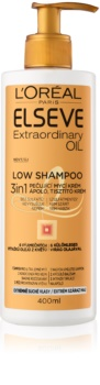 L'Oréal Paris Elseve Extraordinary Oil Low Shampoo Nourishing Cream Cleanser for Very Dry Hair
