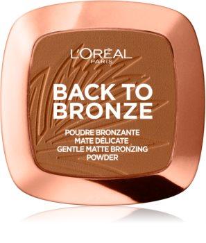 L'Oréal Paris Wake Up & Glow Back to Bronze autobronzant
